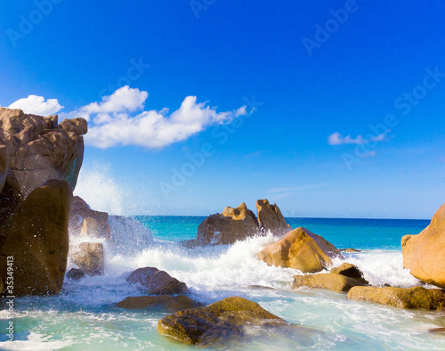 Shore Scene Waves