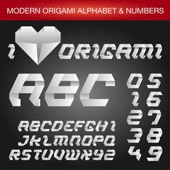 Origami Style Alphabet
