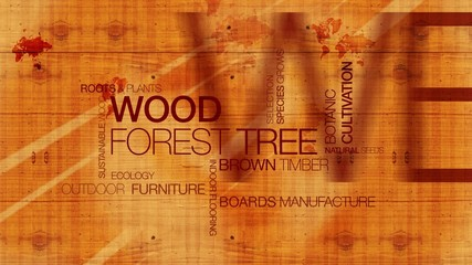 Wood forest tree texture tag cloud headlines
