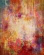 abgeblätterte farbschichten auf leinwandstruktur