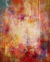 exfoliadas capas de color sobre lienzo estructura