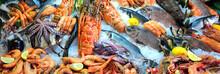 """Постер, картина, фотообои """"Fresh seafood"""""""