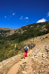 bulgarian hikers
