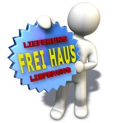 Frei Haus Lieferung