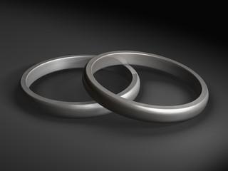 Hochzeitsringe (Silber)