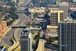 Interstate in Downtown Atlanta, Georgia