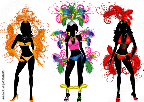 Carnival Silhouettes 2