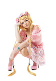 Beauty woman like lolita cosplay character poster