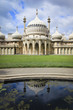brighton pavillion regency palace england