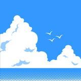 海と入道雲 - 35370614
