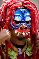 Traditional Mask From Jeruk Wudel Village