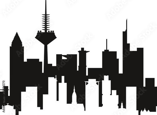 silhouette frankfurt geile frauenärsche