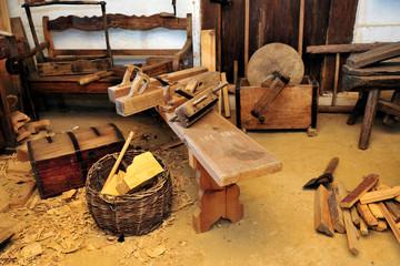 antique, interior, tools, vinitage, wooden,