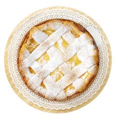 Pastiera - dolce tipico della Campania , Italia