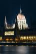 Budapest Parliament night view