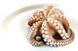 Leinwanddruck Bild - Raw octopus