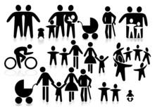 Piktogram Rodzina