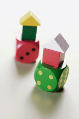 Toy Houses on Dice