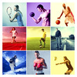canvas print picture - Sports
