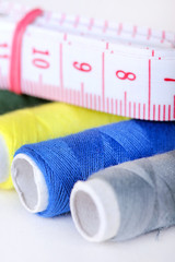 Thread and measure tape