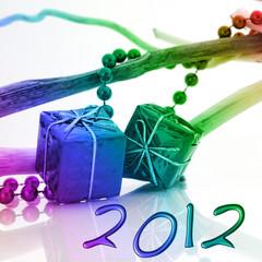 2012 cadeaux couleurs