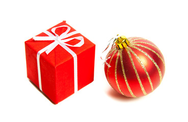 Christmas toys and gifts.