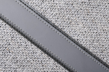 grey rough fabric