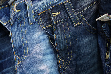Denim jean background