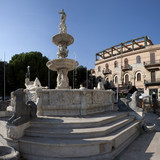 The fountain of Orione in Messina