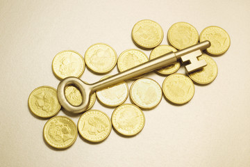 Key on Coins