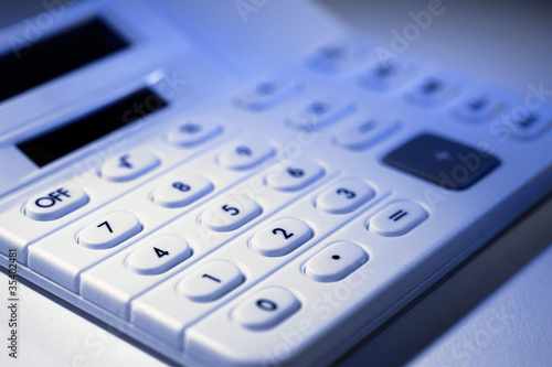 Stock Photo of a Calculator