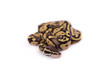 Baby Ball or Royal Python, Firefly morph, on white background