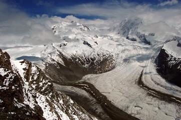 Sterbender Gletscher