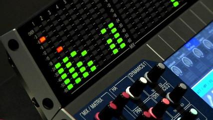 Audio Mixer Board Equipment