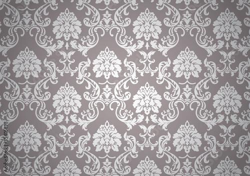 papier peint baroque fichier vectoriel libre de droits. Black Bedroom Furniture Sets. Home Design Ideas