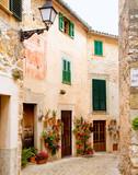 Medieval Valldemosa traditional Majorca village