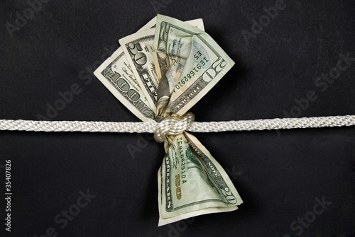 money in a knot