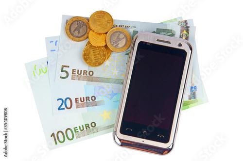 Handy und Geld