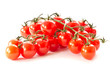 branch of red cherry tomatoes
