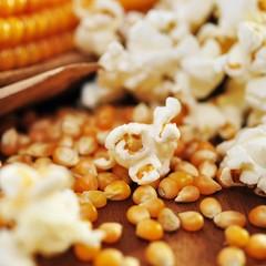 Körner, Popcorn