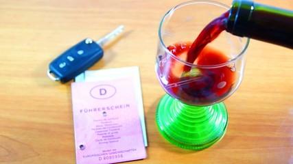 Führerschein und Alkohol