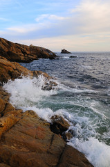 Cote Sauvage (Wild Coast), in Brittany, France