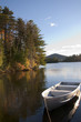 Fall on Lake Placid, Adirondack Mountains New York, USA