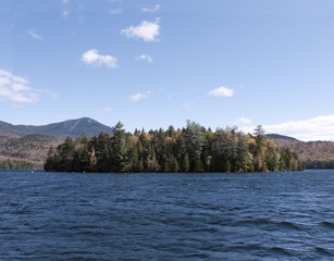 Lake Placid, Adirondack Mountains New York, USA
