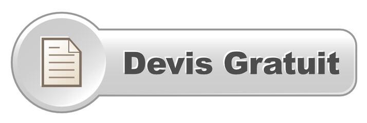 Bouton Web DEVIS GRATUIT (prix tarifs services vente en ligne)