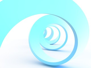 blau swirl