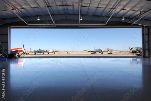 Airplane Hanger - 35428816