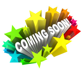 Coming Soon Announcement of New Product or Store Opening