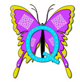 Alpha Bling Butterfly Q