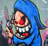 Fototapete Judo - Graffiti - Graffiti